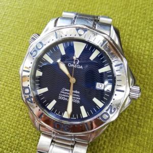 時計修理は大変。オメガ・シーマスター(^_^;)