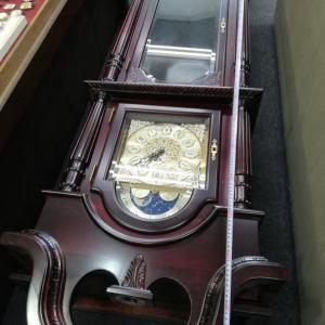 婦中町から、巨大ホール時計の修理!!(^_^;)