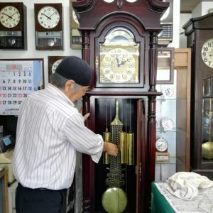 ホール時計。苦労の末、完成!(^_^;)