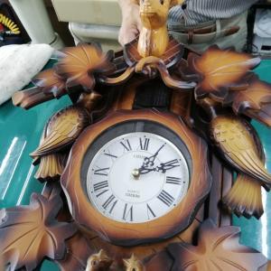 埼玉県から。鳩時計修理に感謝!(*´ω`*)