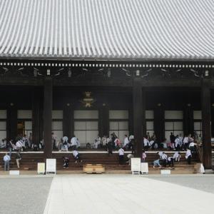 第691回 西本願寺はお掃除中 ~正面通東から西~その12