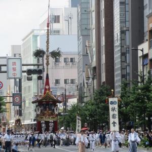 第673回 2019祇園祭前祭山鉾巡行は辻回し中心~その1