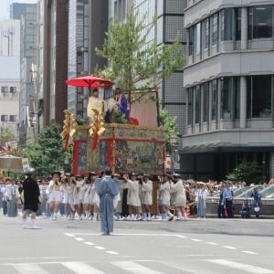 第676回 2019祇園祭前祭山鉾巡行は辻回し中心~その4