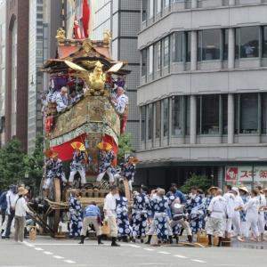 第677回 2019祇園祭前祭山鉾巡行は辻回し中心~その5