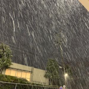 雪を降らせる父