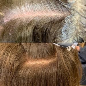 白髪100%でもおしゃれ染めで染めます!
