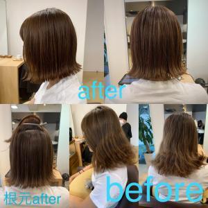 縮毛矯正をしてと流行りヘアはできる!