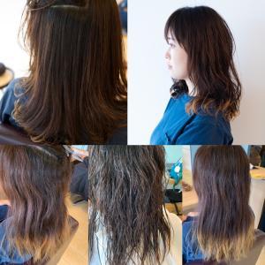 髪を伸ばすための癖毛のストカール