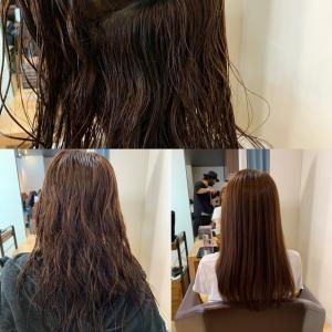 美容師日和に尽きる、縮毛矯正