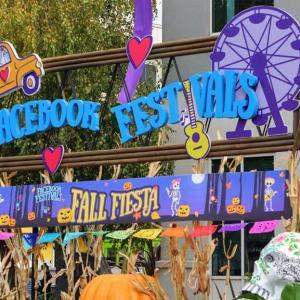 Facebook本社のオフィスイベント♪ Halloweenパーティ♪