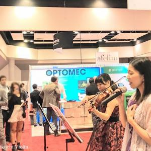 IDTechEx Show!2日目 サンフランシスコ~シリコンバレーでのバイオリン出張演奏