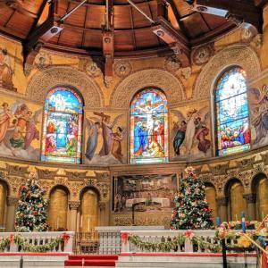 パロアルトのスタンフォード大学記念教会でオーケストラのホリデーコンサート♪