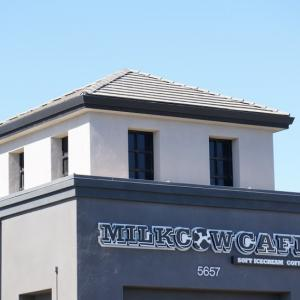 Milkcow Cafe シリコンバレーカフェ巡り♪フリーモント/濃厚ミルクアイスクリーム