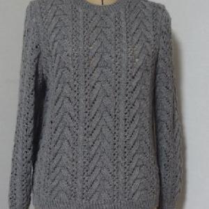 グレーのセーター・完成