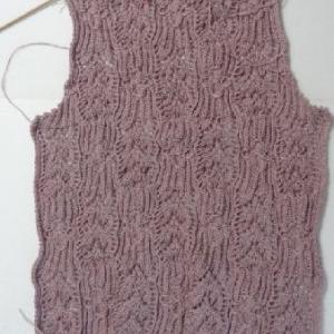 ピンクのセーター2