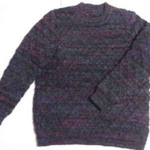 ニッケレーゲルのセーター・完成