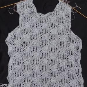 コットンコナ・薄紫のセーター5