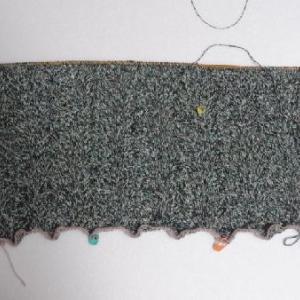 杢糸のセーター1