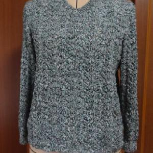 杢糸のセーター・完成