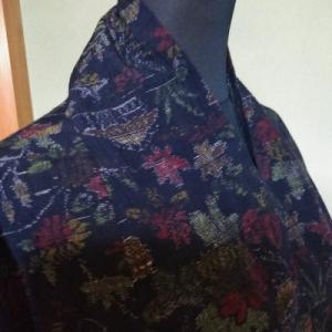 紬のコート