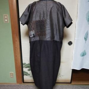 大島紬のチュニック