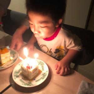 《赤男》4歳になりましたっ\(^o^)/