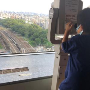 真夏でも日差し気にせず楽しめる電車スポット「北とぴあ展望ロビー」