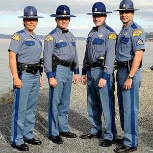 Washington State Patrolの制服【かわいい】
