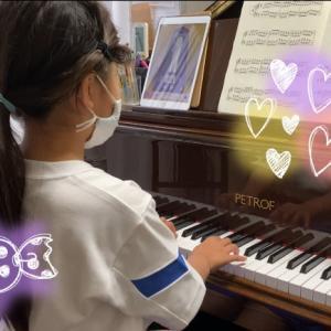 小3Kちゃんのレッスン『群馬県高崎市にある個人のピアノ教室✩.*˚藤巻ピアノ音楽教室』