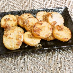 長芋とジャコの炒め物