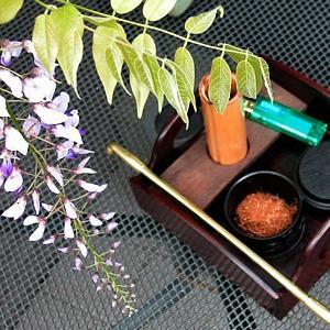 Stay Home 盆栽時間 & 石化檜のミニ盆栽素材