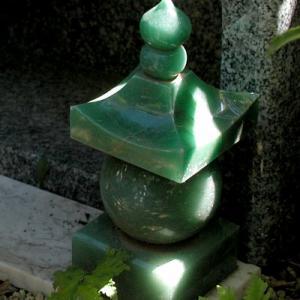 盆栽 供養塔 (個人的な私設)