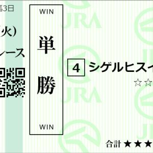 東京12R最終