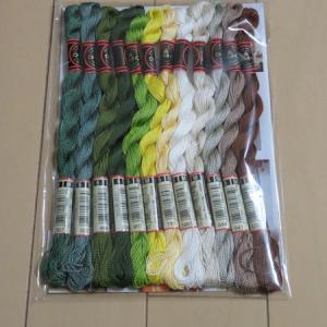 今月の 144色の刺しゅう糸 【2回目】