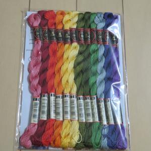 今月の 144色の刺しゅう糸 【4回目】