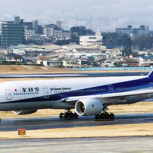 777塗装 ANA B777-200 ・・・ 伊丹空港
