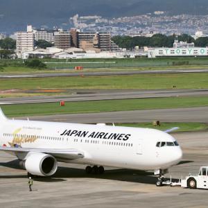 「日本博」特別塗装機 ・・・ JAL B767-300ER