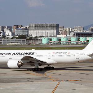 JAL 国内線仕様のトリプルセブン全機退役