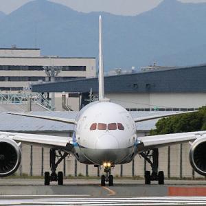 運航が増えた伊丹空港 ・・・ 千里川 ⑦