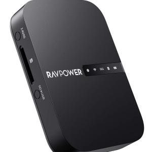 次のガジェットはRAVPOWER FileHub RP-WD009。