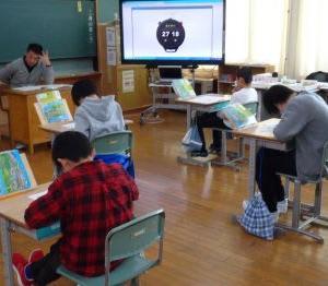 12月4日(水)秋田県学習状況調査がありました。