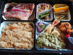 味の実家 1500円弁当