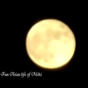 お月さんとドラマの話。