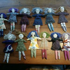 手作りのお人形
