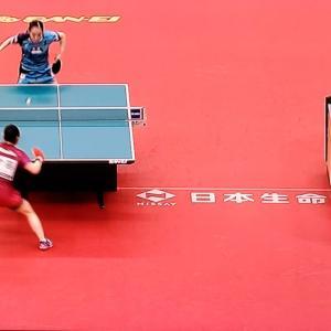 全日本卓球選手権女子決勝