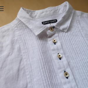 麻のシャツとアイロン