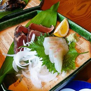 近所のランチだけの営業店「魚菜っぱ」でお魚のランチ