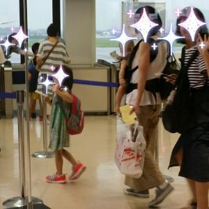 娘達東京へ帰る&龍馬空港で高知のお土産を自宅用に買ってみた