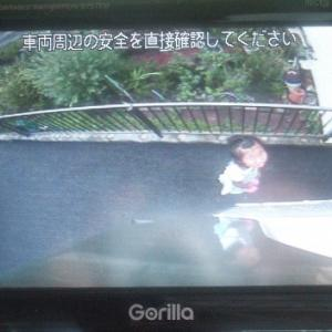 左リヤ下部監視カメラを交換