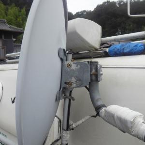 BSアンテナの仰角を調整